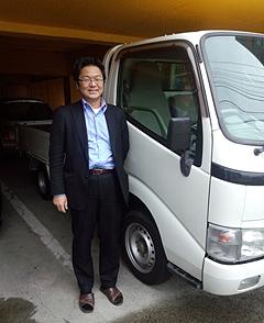 神奈川県ダイナ1tトラック中古車ご購入宮崎様